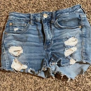 Size 2 American eagle ripped shorts